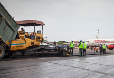 RUNWAY RESURFACING